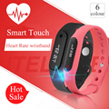 Touch Screen Smart Wristband Fitness Sleep Tracker Heart Rate Monitor Bluetooth 4.0 Hot Watch For IOS Android vs mi band 2