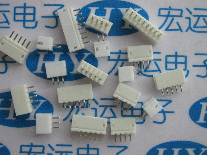 50pcs/Lot  JST ZH 1.5mm 2P/3P/4P/5P/6P/7P/8P/9P/10P/11P/12P Straight Pin Female Connector