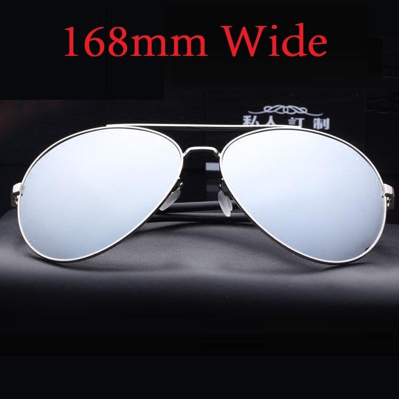Vazrobe 168 мм негабаритных солнцезащитные очки поляризованные Для мужчин вождения солнцезащитные очки для ЧЕЛОВЕК АВИАЦИИ зеркальные солнцезащитные очки большой лицо жира мужской купить на AliExpress
