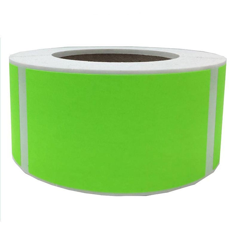 2 quot x 3 quot Fluorescent Green Color Code Square Sticker Labels Permanent Adhesive Write On Surface 500 pcs per rolls in Wallpapers from Home Improvement