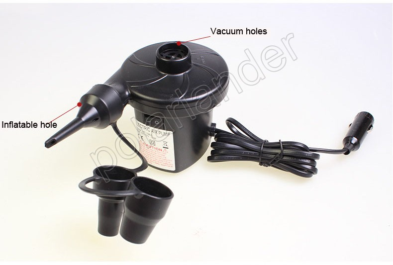 12V/4800PA AC Car Electric Air Pump For Camping Airbed Boat Toy Inflator high quality