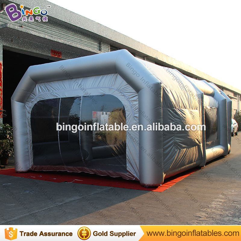 26.2ft x 15.4ft x 9.8ft gonfiabile vernice spray booth/blow up auto vernice booth/vernice booth cina giocattolo tende