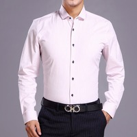 New Arrival Men's Cotton Shirts Fancy/Classic Dress Shirts Long And Short Sleeve Slim Fitting Shirts 8 Sizes High Quality E