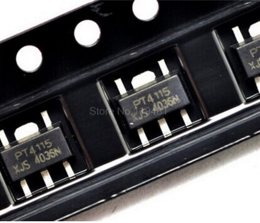 10PCS PT4115 4115 SOT-89 IC LED Drive Power NEW