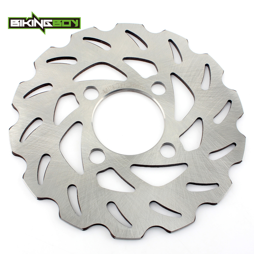 цена на BIKINGBOY ATV Quad Front Brake Disk Disc Rotor for YAMAHA YFM 125 250 350 Raptor XW Warrior YFS200 YFZ350 89-2013 90 91 92 93 94