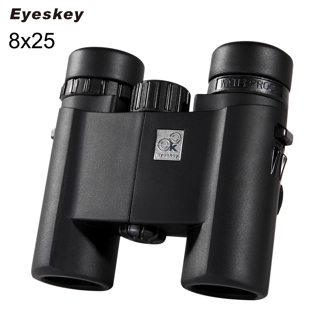 ФОТО Eyeskey Real Standard 8X25 HD Optical 429ft/1000yrd Waterproof Binoculars Telescope For Tourism Camping Scope Hiking Binoculars