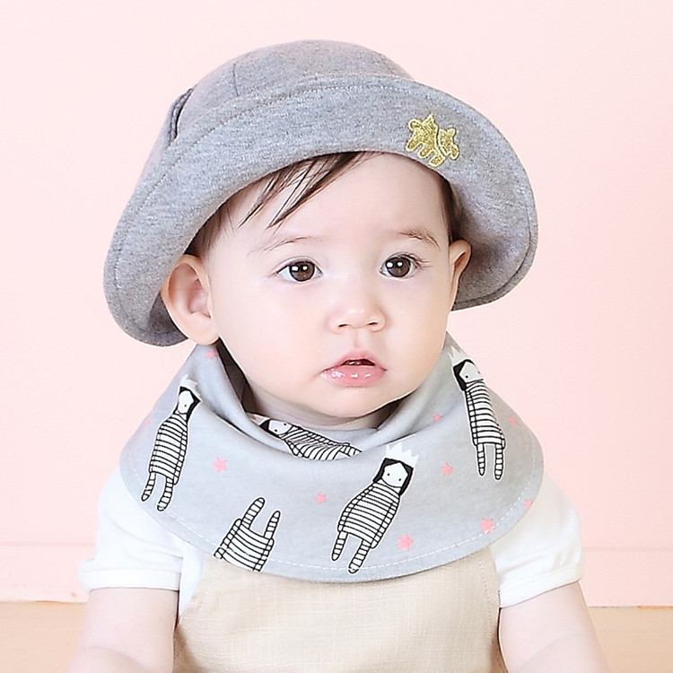 Unisex Baby Cartoon Bibs Scarf Newborn Infant Feeding Clothes Bandana Drool Bib Toddler Boys Girls Baby Accessory