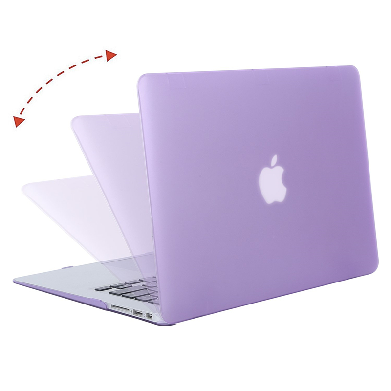 Image 2 - MOSISO Crystal/Matte Laptop Case For Apple Macbook Air 13 A1932 2018 Laptop Case Cover for Mac Air 13 inch Model A1466 A1369-in Laptop Bags & Cases from Computer & Office