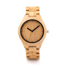 BOBO BIRD Wooden Watch Men relogio masculino Timepieces Japan Movt 2035 Quartz Watches Special for Drop Shipping bobo bird luxury women bamboo watches timepieces for men and women quartz wooden watch relogio feminino c d21