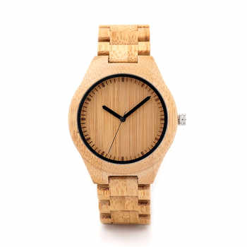 BOBO BIRD Wooden Watch Men relogio masculino Timepieces Japan Movt 2035 Quartz Watches Special for Drop Shipping - DISCOUNT ITEM  15% OFF All Category