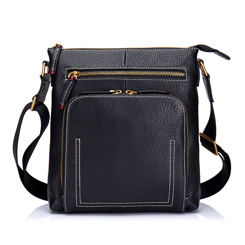New Arrival Genuine Leather Men Bags Briefcase High Quality Men Handbag Messenger Bags Fashion Male Business Shoulder Bags DC319