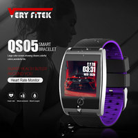VERYFiTEK QS05 Smart Wristband Watch Blood Pressure Oxygen Smart Band Customize Watch Dial Heart Rate Monitor Fitness Bracelets