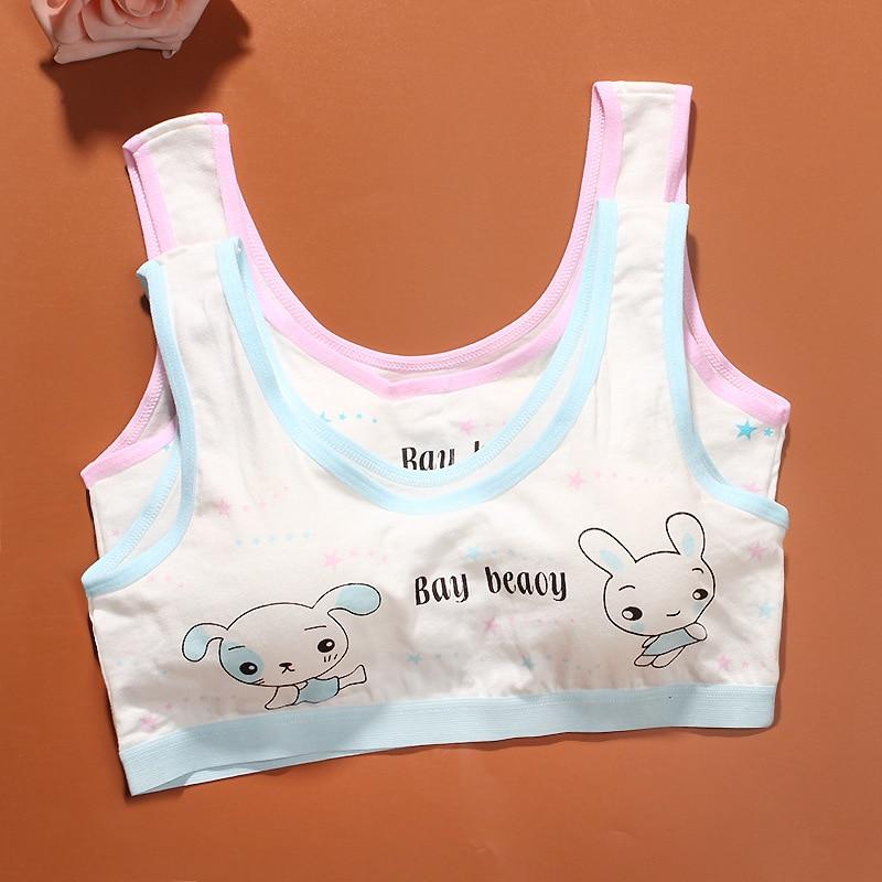 1f6303c8b2fdc Kids Bras Teenage Underwear Cotton Training Bras For Kids Girls Children  Puberty Young Small Bra For Teens