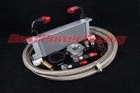 80 Deg Thermostaat 13 rij 10AN oliekoeler kit Voor TOYOTA FT 86/GT86/Scion FR-S/Subaru BRZ ZN6 ZC6