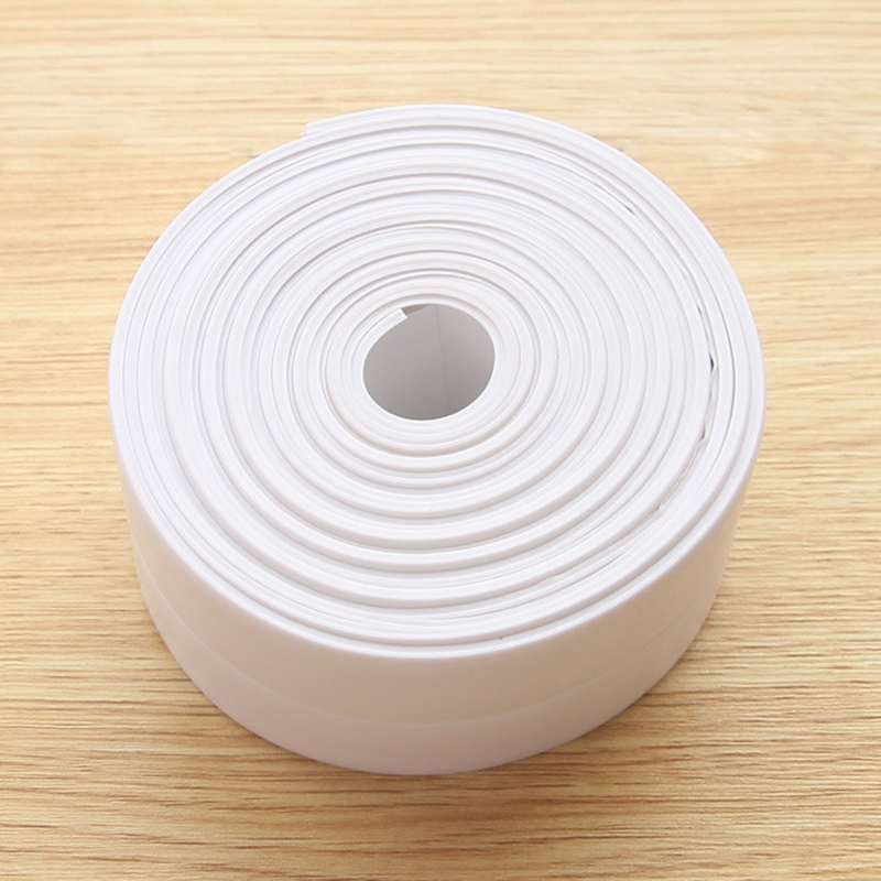 22mm/38mm*3.2M PVC Kitchen Waterproof And Mildewproof Tape Home Improvement DIY Kitchen Bathroom Cleaning Wall Stickers Tape