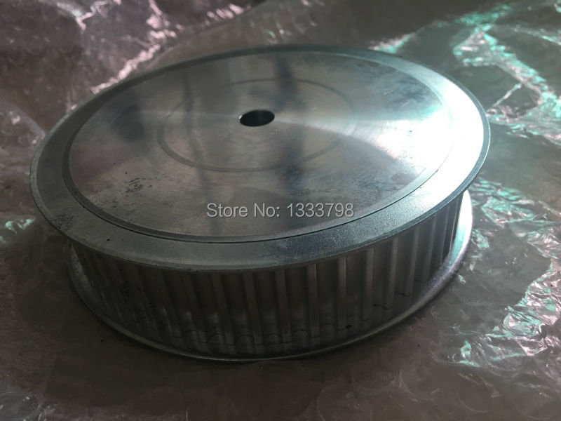 Control high-speed double flanges  100teeth AT10 timing belt aluminum pulley/ wheel gear cheap price top high speed full teeth piston page 1