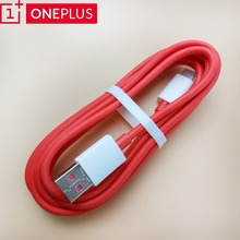 Original Oneplus dash cable usb type-c 4a 200cm red round quick fast charge data sync line for oneplus 6t/6/5t/5/3t/3 smartphone