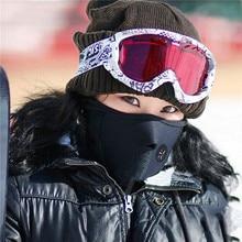 Unisex Dustproof Windproof Half Face Mask Veil Guard Cap For Snowboard Ski Hiking