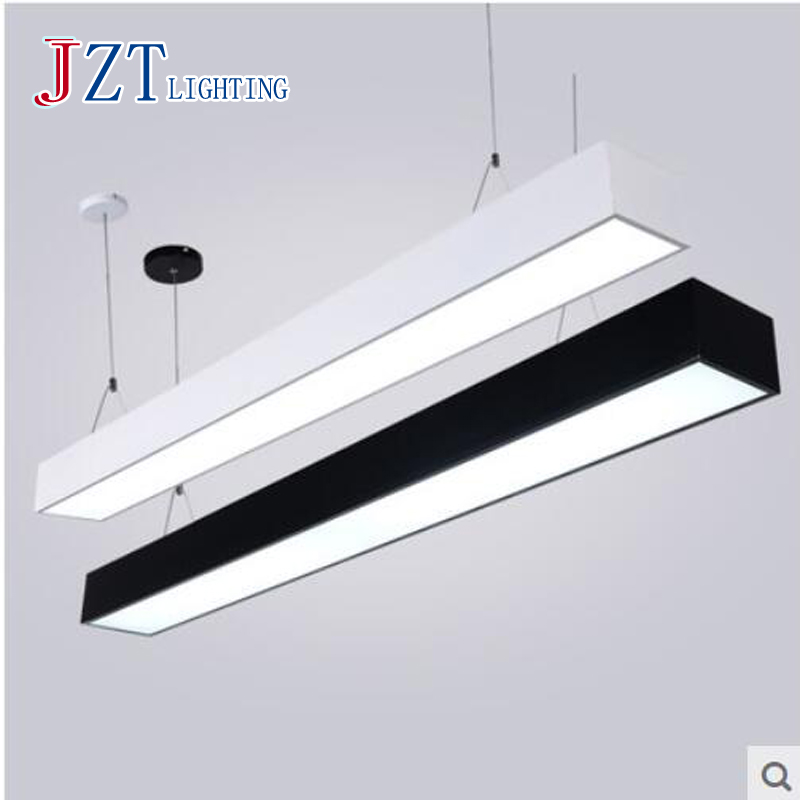 t simple modern t5 led pendant light for office shopping mall fashion indoor lamp study room cheap office lighting