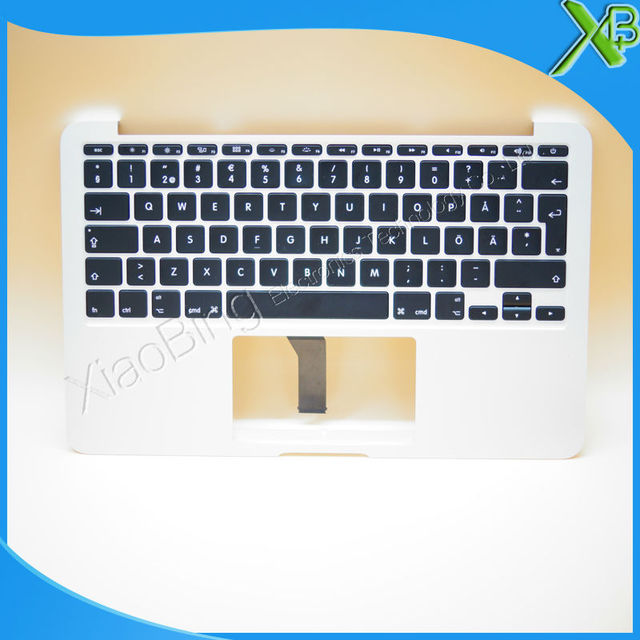 "New TopCase with SE Swedish Sweden Keyboard for MacBook Air 11.6"" A1465 2013-2015 years"