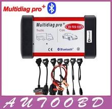 Universal Multidiag Pro+ Full 8 Car Cables VD TCS CDP PRO OBD2 Bluetooth Auto Scanner OBDII 2 Car Trucks Tester Diagnostic Tool