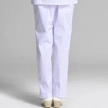 Сестринского uniformes больница медицинских медсестра белые работы розовый синий женские хлопок