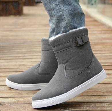 2016 Zapatos de Moda de Invierno Para Hombre Botas De Invierno de Nieve de Arranque Botines Chaussure
