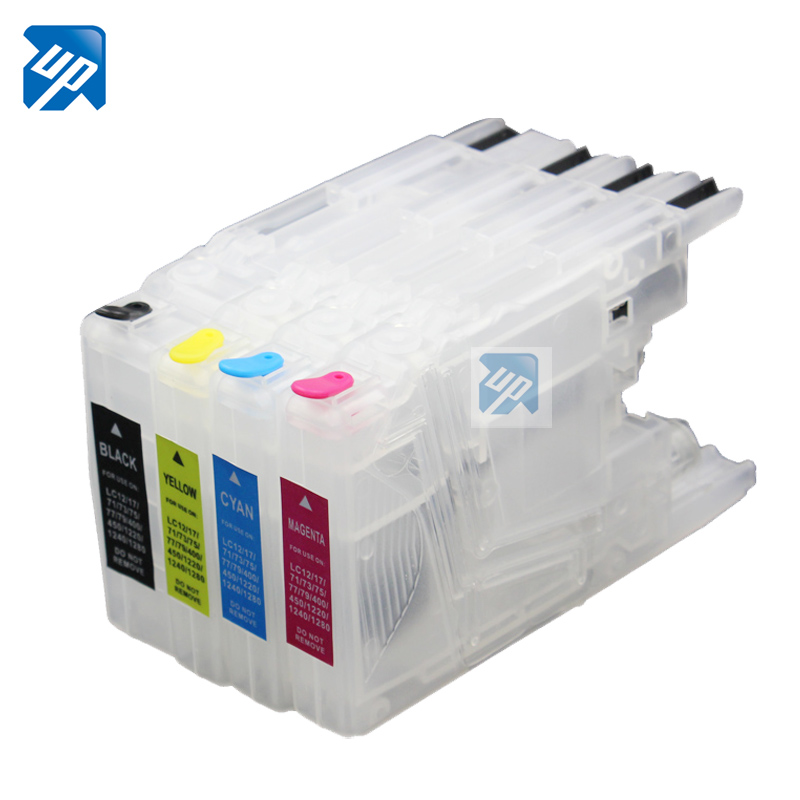5sets refillable Ink cartridges for Brother LC1220 LC1240 LC1280 LC73 LC75 for brother MFC J5910DW J6510DW