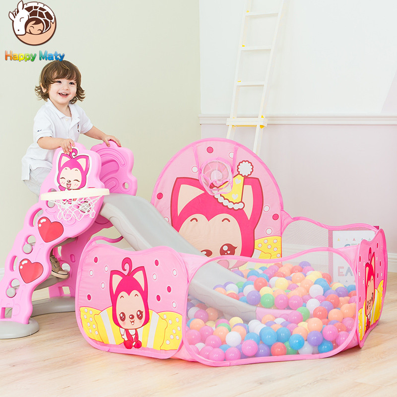 Play House Indoor and Outdoor Easy plegable Ocean Ball Pool Pit Game - Deportes y aire libre - foto 2