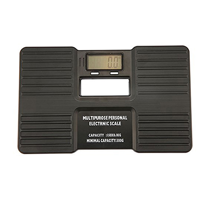 Multipurpose LCD Display Potable Personal Digital Bathroom Body Scales Electronic Health Body Weight Measuring Instruments HR
