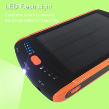 High-Power 23000mAh Charger for Laptop Backup Power Large Capacity Solar External Battery 5V 12V 16V 19V Solar Panel Power Bank