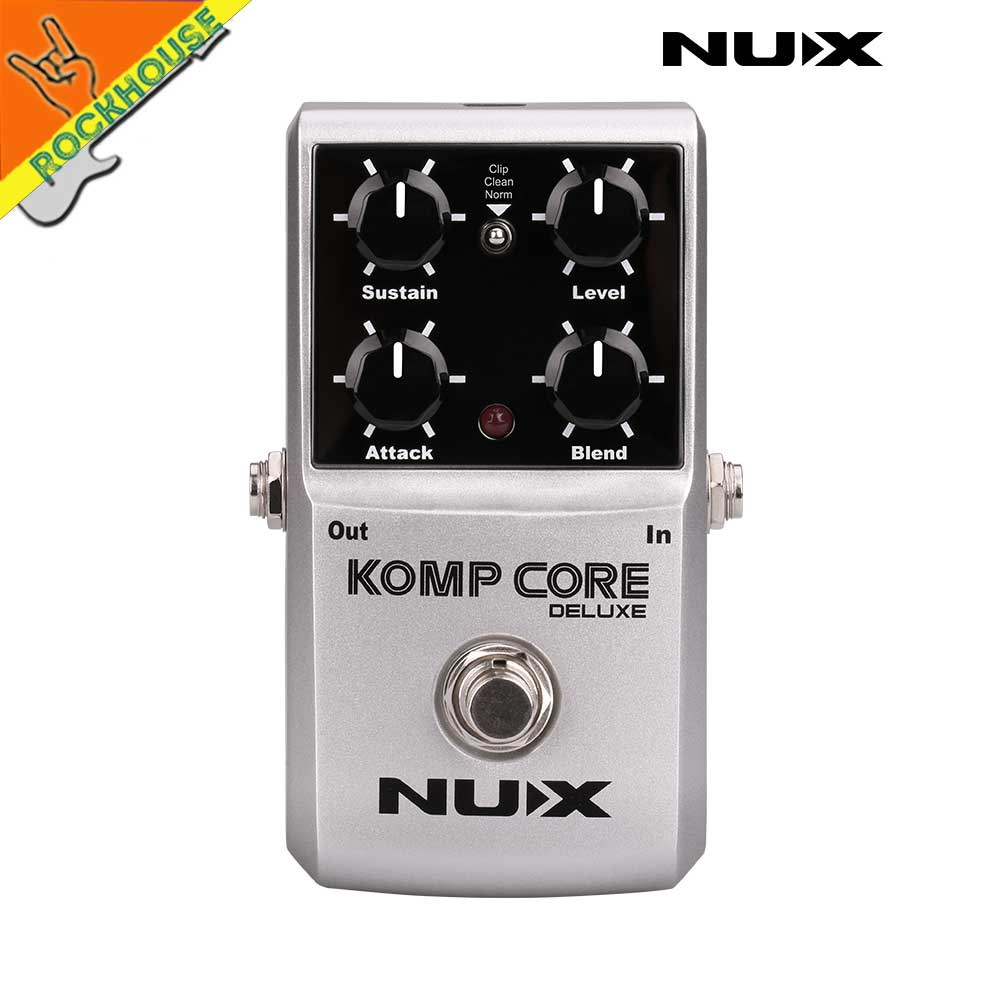 NUX Compressor Guitar Effects Pedal reduce the redundant dynamic ensure balanced Performance True bypass Free Shipping