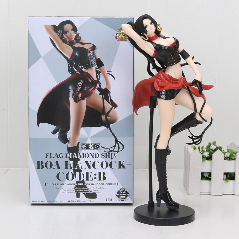 Toys & Hobbies Anime One Piece Figure Flag Diamond Ship Figure Boa Hancock Code B Action Figures Collectible Toy Gift 25cm To Assure Years Of Trouble-Free Service