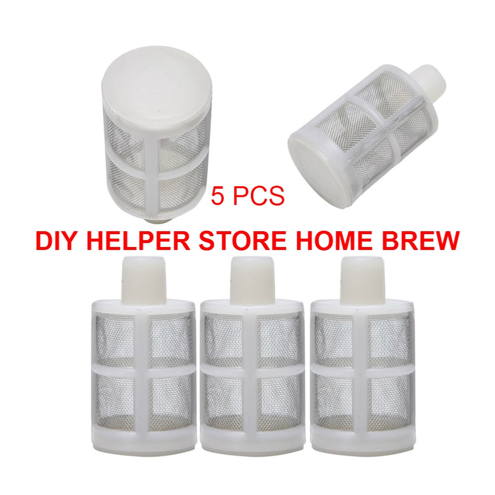 2018 Hot Sale 5 pcs / lot 8mm Filter Silikon Untuk Wort Mashing - Dapur, ruang makan, dan bar - Foto 1