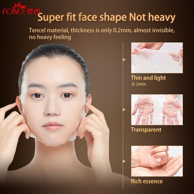 [Normal delivery] face Mask Anti Wrinkle Anti Aging Six peptides Plant mascarilla facial Treatment Mask 10 pieces Skin Care 3