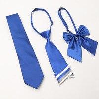 Même Motif pour Femmes Et Hommes Cravate Set Nouvelles Femmes noeuds papillon Filles Cou Cravate pour Femme Homme Banque Hôtel Personnel Chemise accessoire