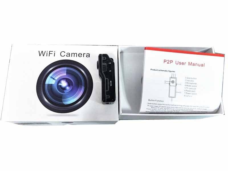 Mini WiFi P2P IP DV Camera Camcorder Motion Detect Video Record Web Cam Wireless Phone Sport Vehicle Baby Monitor TF Card цены