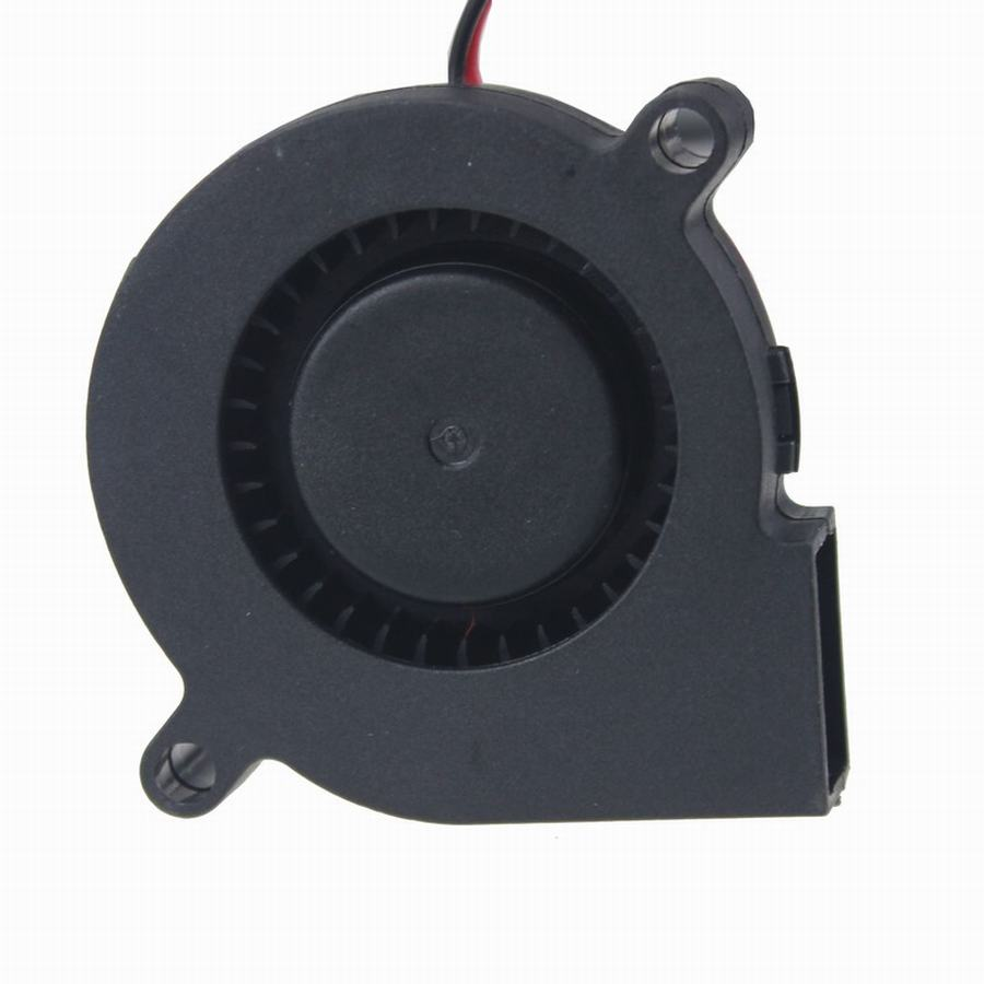 Gdstime 50mmx50mmx15mm 0.15A 12V 2Pin 5cm Radial PC Computer DC Cooling Blower Fan 5015 gdstime 10 pcs dc 12v 14025 pc case cooling fan 140mm x 25mm 14cm 2 wire 2pin connector computer 140x140x25mm