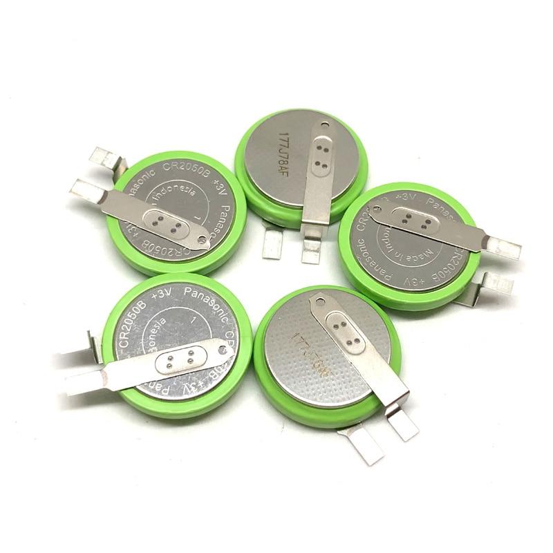 10pcs lot Panasonic CR2050B CR2050 3V High Temperature Li ion mManganese Dioxide Car Tire Pressure Monitoring