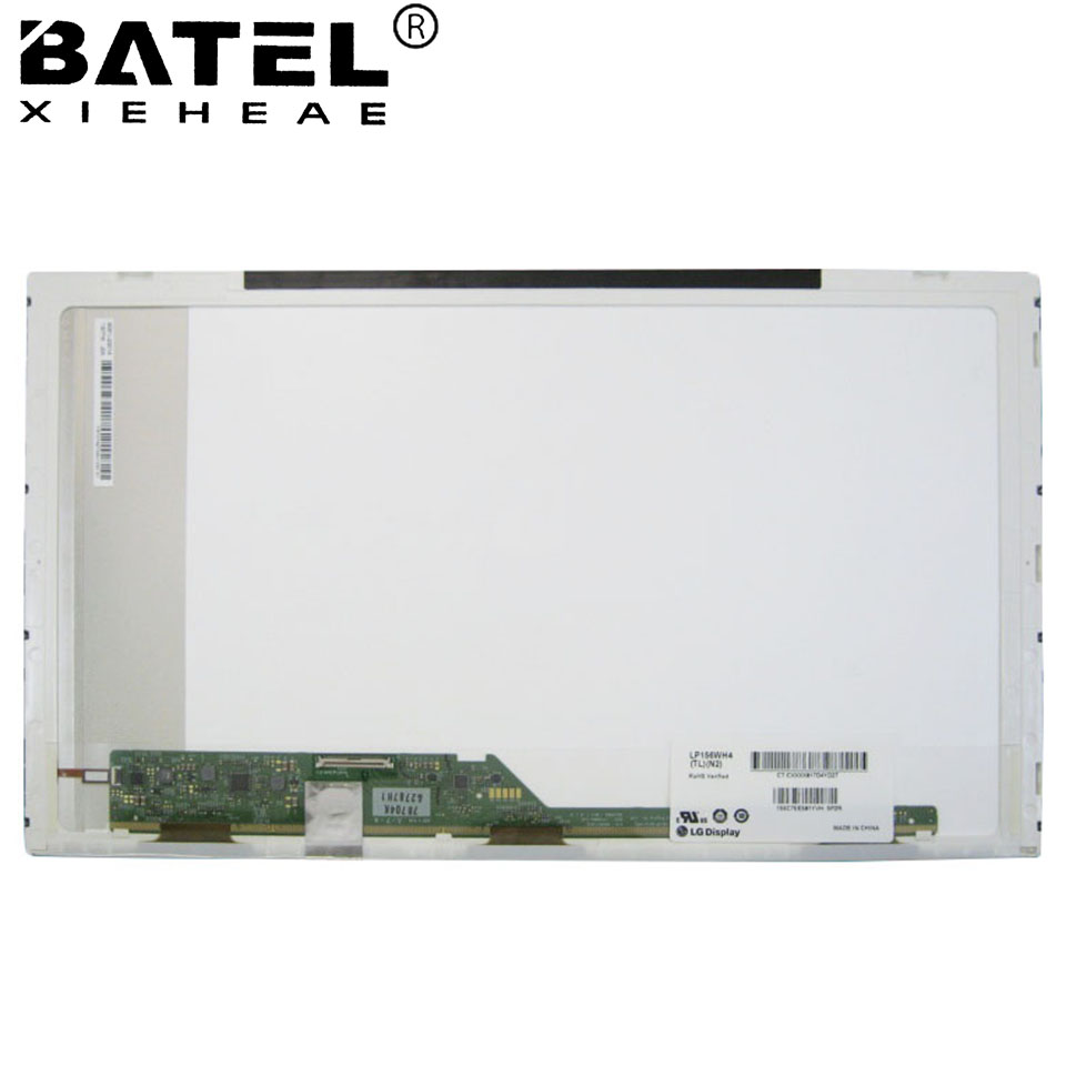 BATEL XIEHEAE LP156WH4 Glossy 15.6 LCD Screen LCD Matrix 1366*768 HD 40Pin LVDS New Replacement for lg display for samsung r425 14 0 led display laptop lcd screen matrix panel glossy 1366 768 hd lvds 40pins
