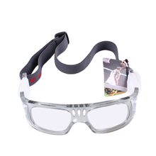 New Outdoor Sports Protective Eyewear Goggles Safety Elastic Adjustable Basketball Football Tennis Ball Glasses with Box Carry