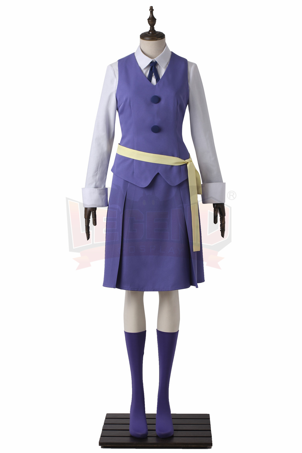 Cosplaylegend Little Witch Academia Hanna Dress Outfit Halloween cosplay costume custom made halloween women costume