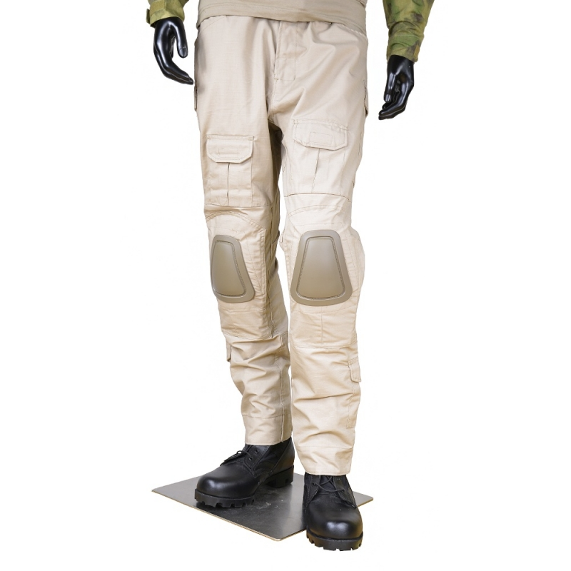 CQC Tactical Pants Cargo Men Military Army Hunting Airsoft Paintball Camouflage Gen2 BDU Combat Pants With Knee Pads Khaki emerson g2 tactical pants with knee pads airsoft combat training military trousers bdu army airsoft paintball pants em8525