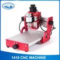 CNC1419 alle metalen kleine desktop graveren/koper aluminium metalen graveermachine/machine CNC graveermachine