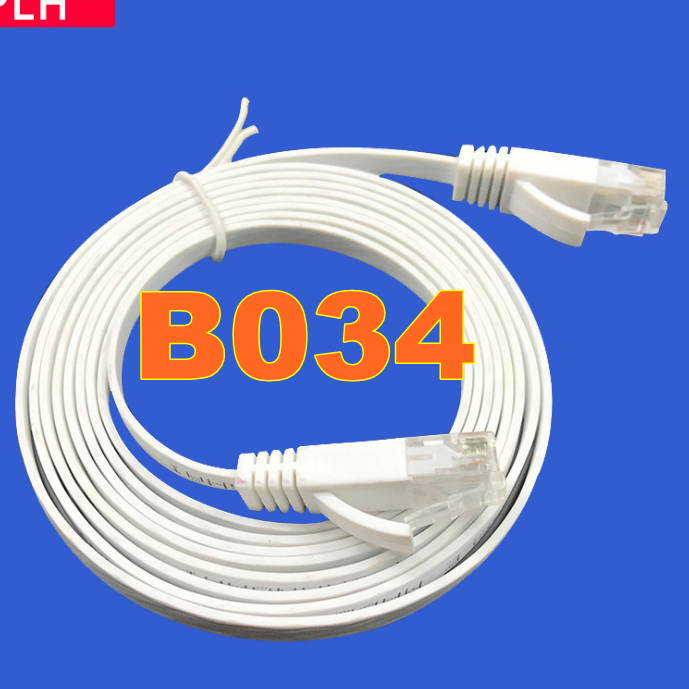 Ordinateur et commutateur six types de câble réseau ordinateur fini en plein air B034