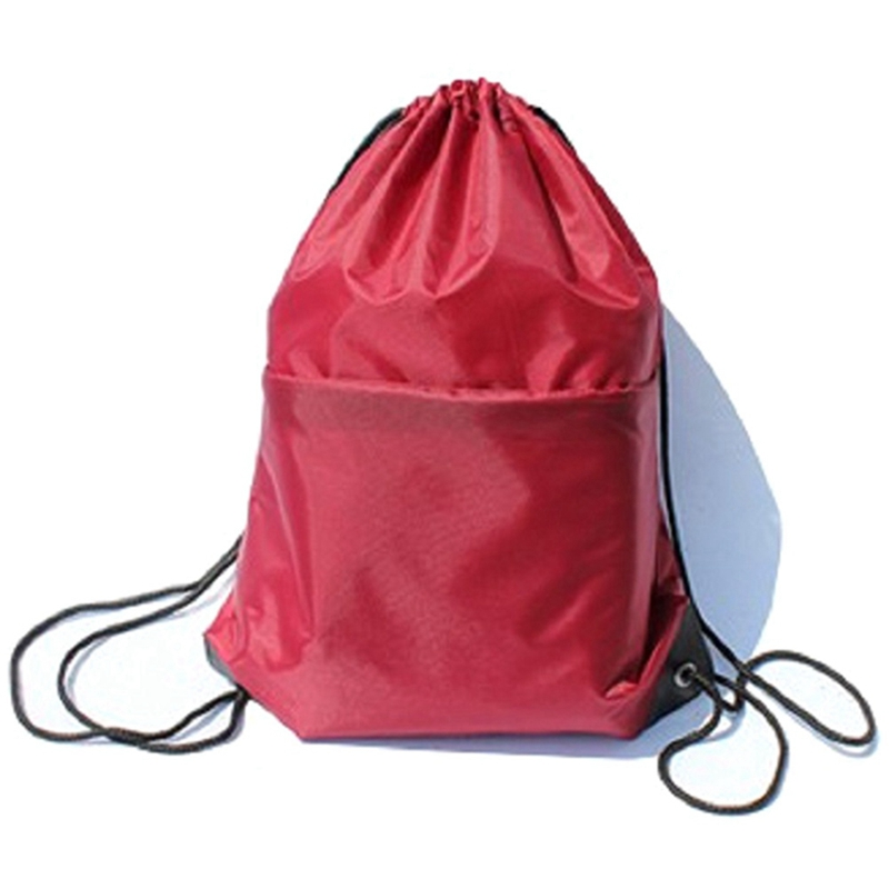 43*33cm Waterproof Nylon Outdoor Bags Drawstring Backpack Baby Kids Toys Travel Shoes Laundry Lingerie Sports Bag Swim Backpack