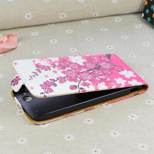For Alcatel One Touch Idol Alpha 6032 6032A 6032X / TCL S860 flip cover leather case for Alcatel 6032 A X phone cases covers
