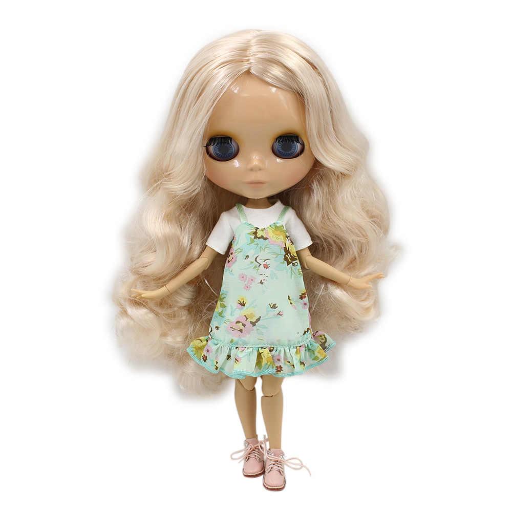 Ледяная фабрика Blyth кукла с гибкими суставами DIY обнаженные игрушки BJD модные куклы девушка подарок Специальное предложение на продажу с лицом оболочки ручной набор A & B