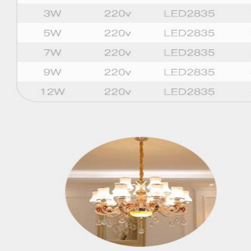 Купить с кэшбэком 220v candle bulb e14 led bulb e27 led bulb 8pcs/lot free shipping