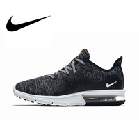 Original Official NIKE AIR MAX SEQUENT 3 Women's Running Shoes Slip on Free Run Sports Fitness Walking Breathable Classic 908993